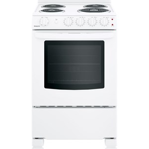 """Hotpoint® 24"""" Electric Free-Standing Front-C"""