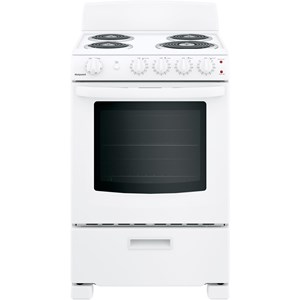 """Hotpoint® 24"""" Free-Standing Electric Range"""