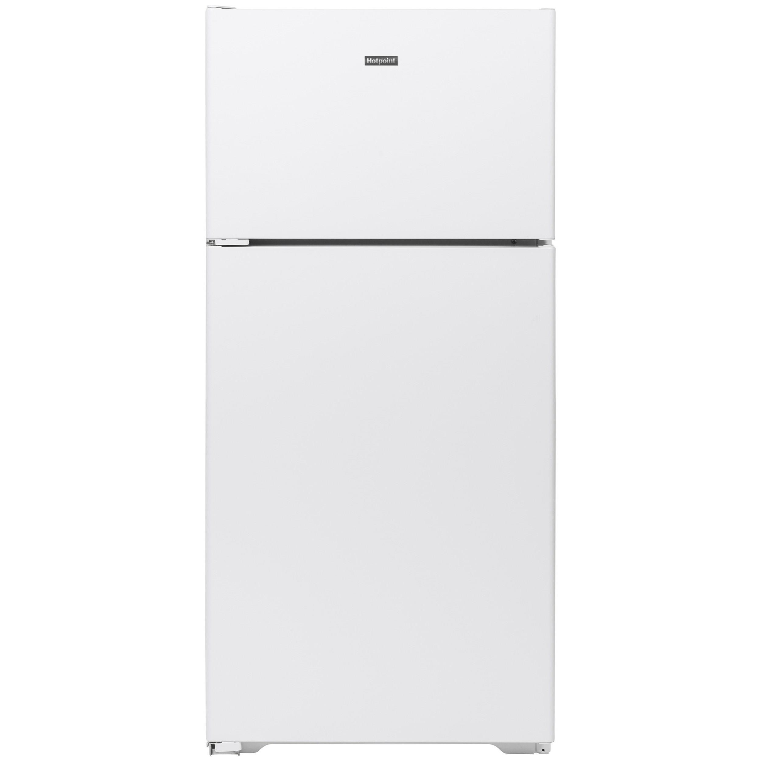 Hotpoint Refrigeration Hotpoint® 15.6 Cu. Ft. Refrigerator by GE Appliances at Furniture and ApplianceMart