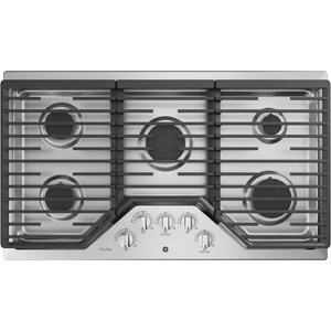 """Profile™ 36"""" Built-In Gas Cooktop with Cast Iron Grate"""