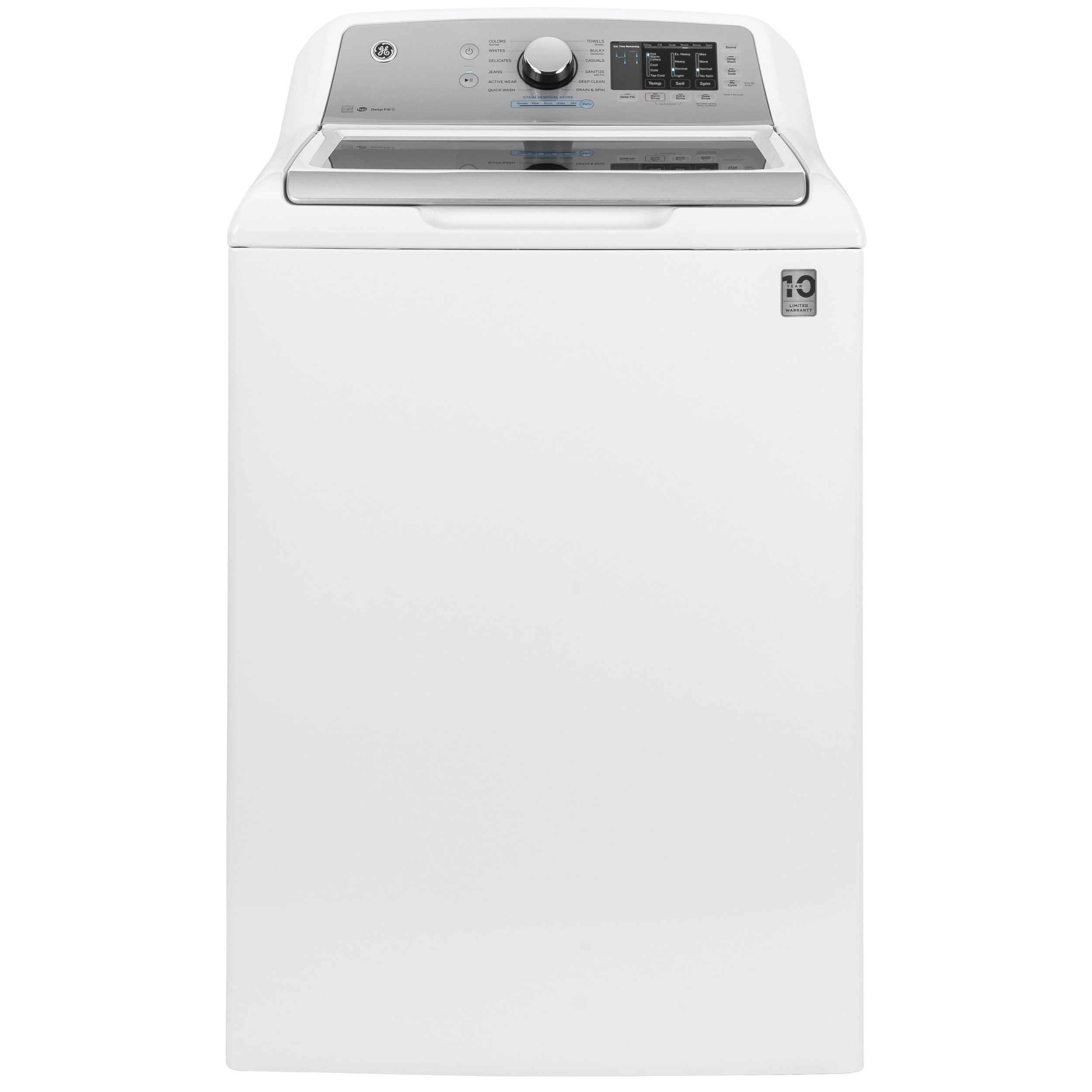 Top Load Washers - GE 4.6 cu. ft. Capacity Washer by GE Appliances at Furniture and ApplianceMart