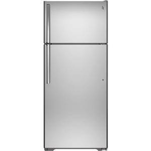 GE Appliances Top-Freezer Refrigerators 17.6 Cu. Ft. Top-Freezer Refrigerator