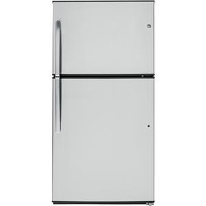 GE Appliances Top-Freezer Refrigerators 21.2 Cu. Ft. Top-Freezer Refrigera