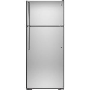 GE Appliances Top-Freezer Refrigerators 17.5 Cu. Ft. Top-Freezer Refrigerator