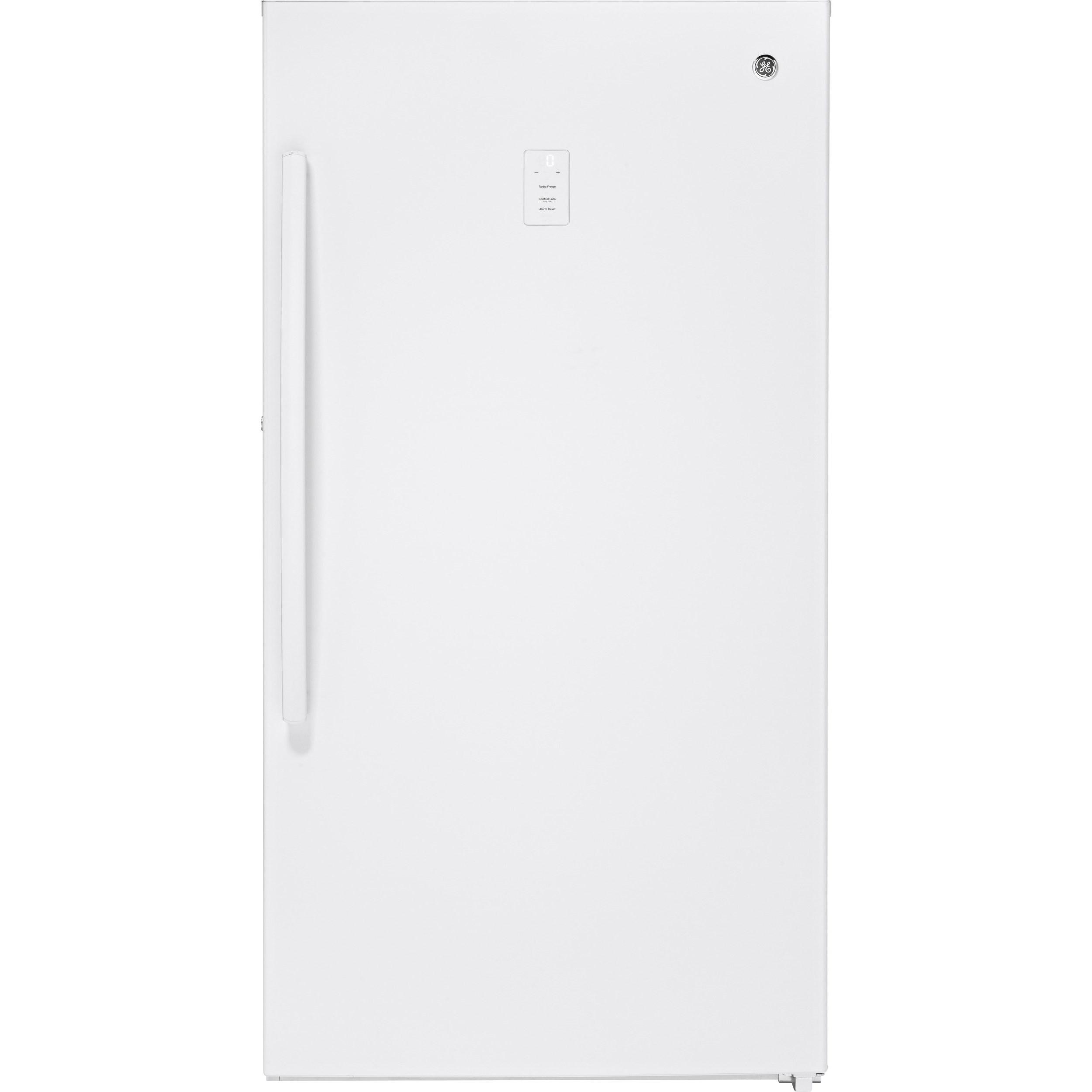 Upright Freezer 17.3 Cu. Ft. Frost-Free Upright Freezer by GE Appliances at Westrich Furniture & Appliances