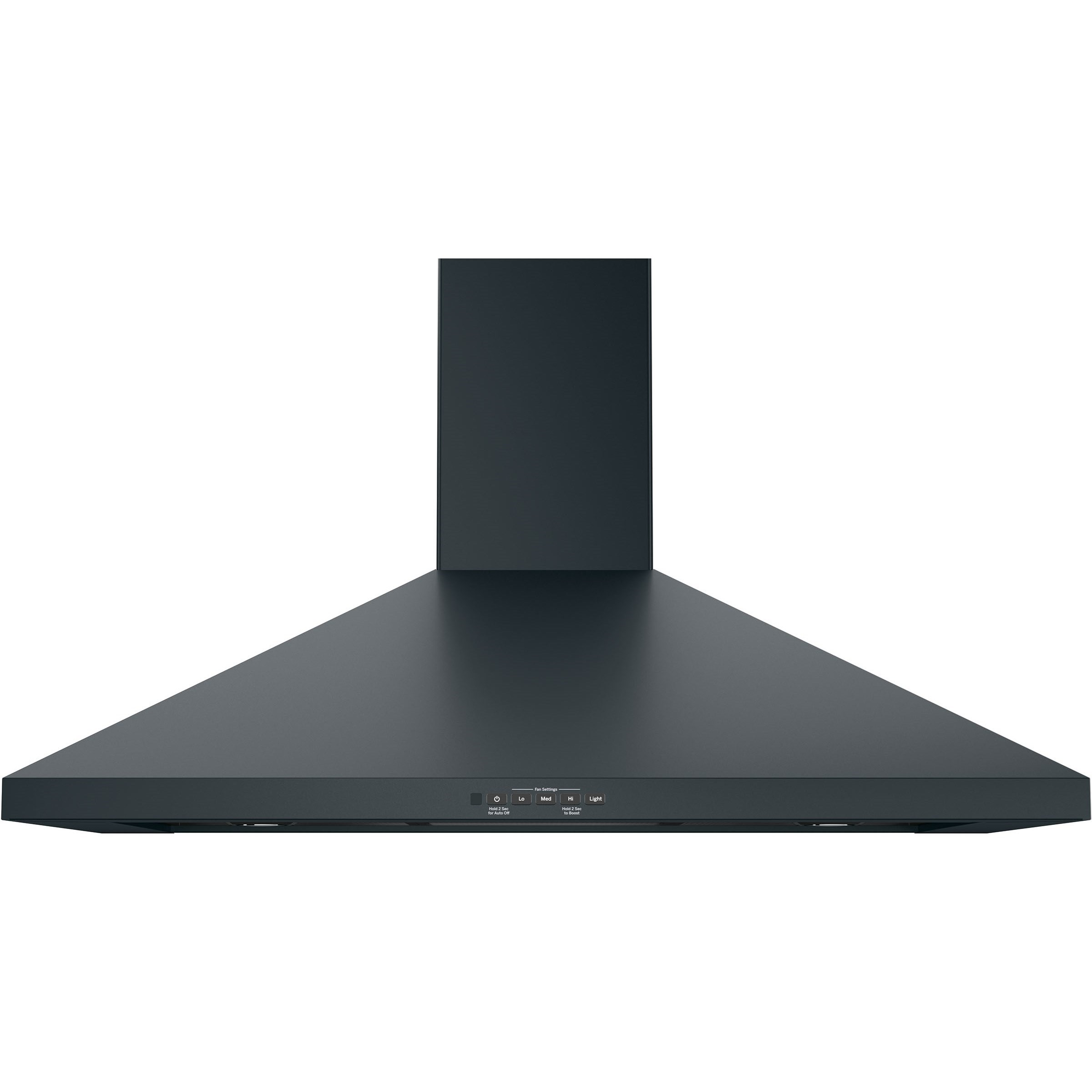 """Ventilation Hoods GE 36"""" Wall-Mount Pyramid Chimney Hood by GE Appliances at Furniture and ApplianceMart"""