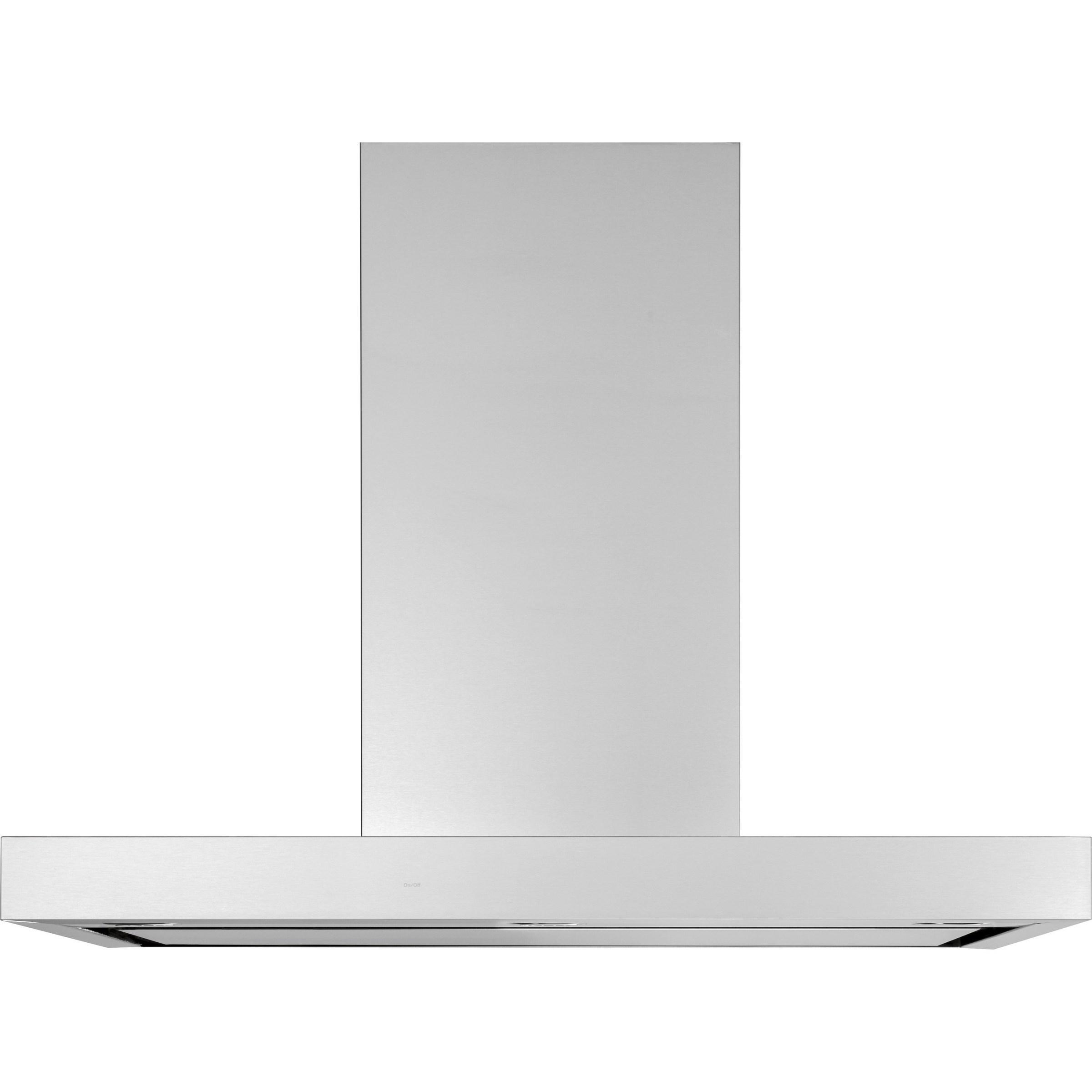"Ventilation Hoods 36"" Smart Designer Wall Mount Hood by GE Appliances at VanDrie Home Furnishings"