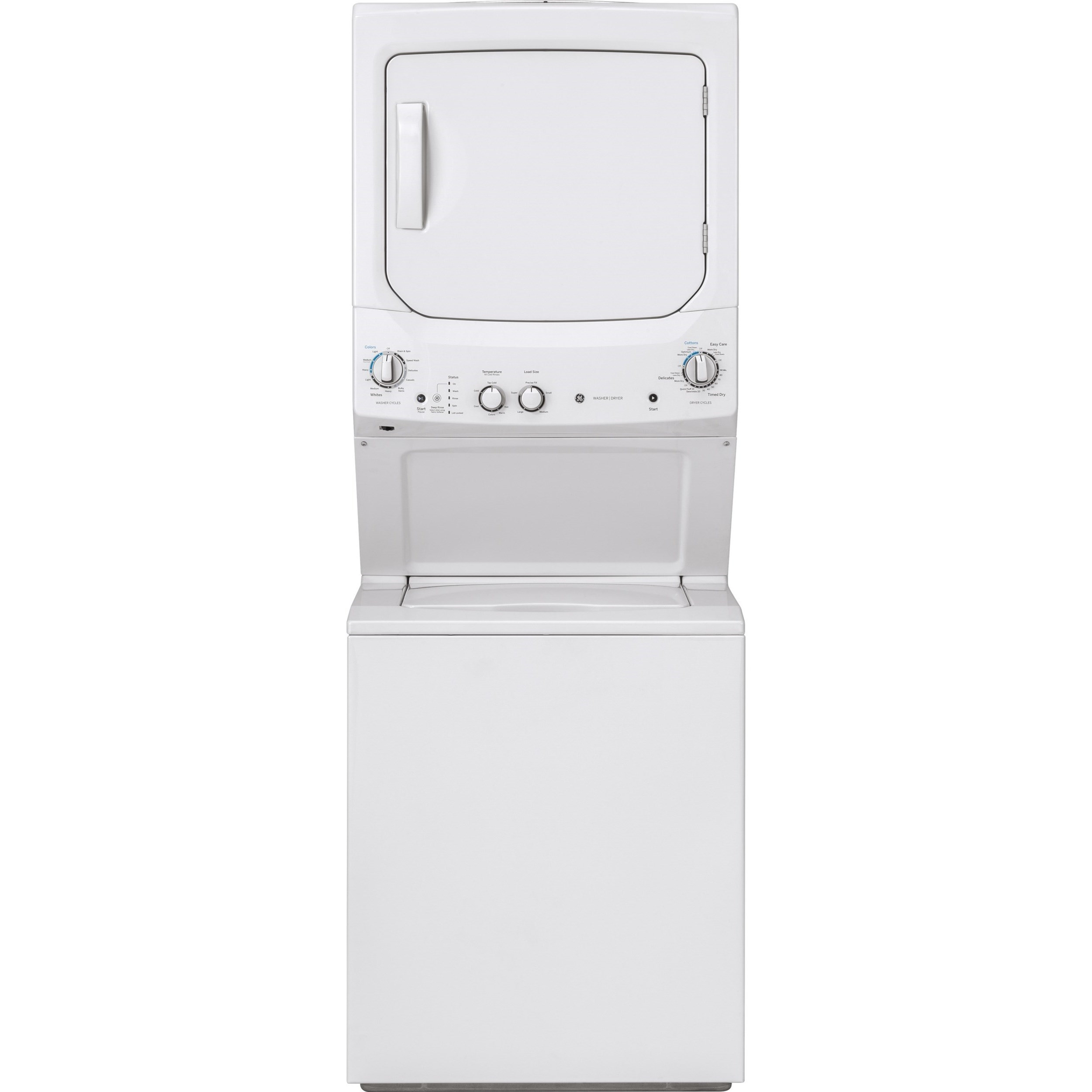 Washer and Dryer Sets Spacemaker® Washer and Dryer Combo by GE Appliances at Westrich Furniture & Appliances