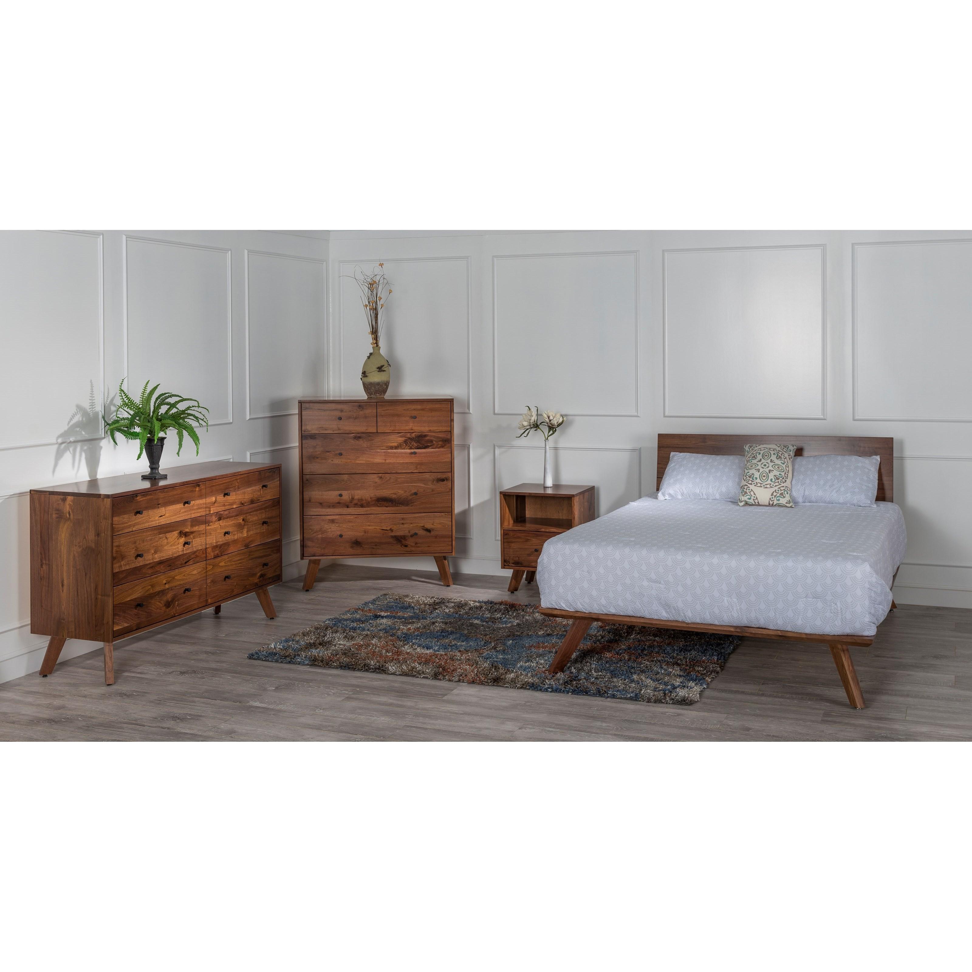 Sullivan Bay Customizable Queen Bedroom Group by Glenmont Furniture at Saugerties Furniture Mart