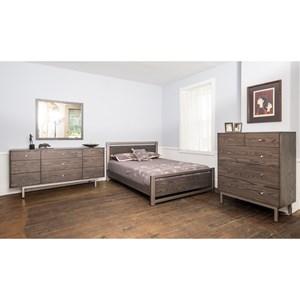 Customizable Contemporary Queen Bedroom Group
