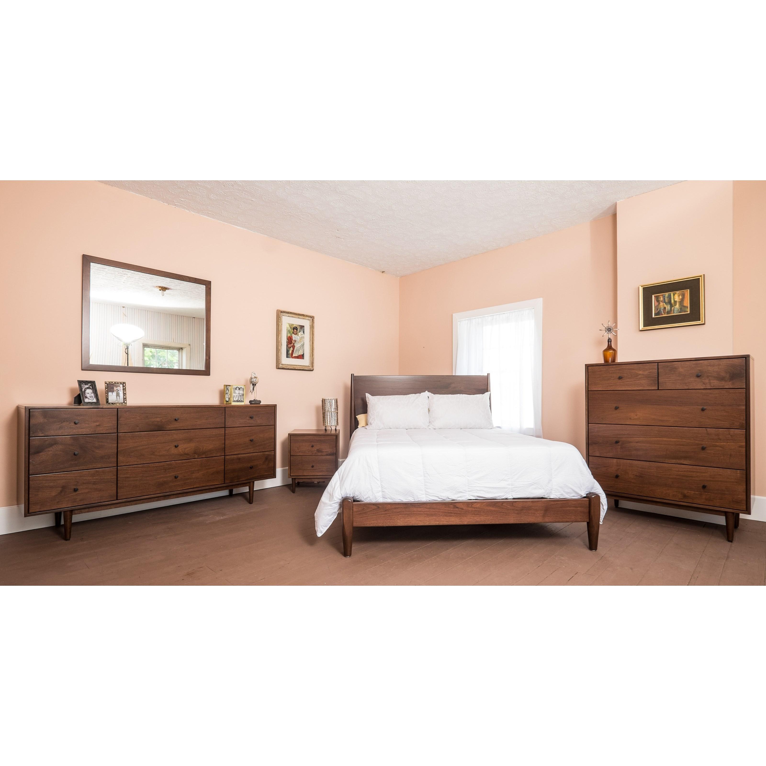 Sullivan Road Customizable Queen Bedroom Group by Glenmont Furniture at Saugerties Furniture Mart