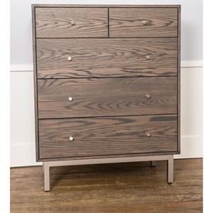 Customizable Chest with 5 Drawers