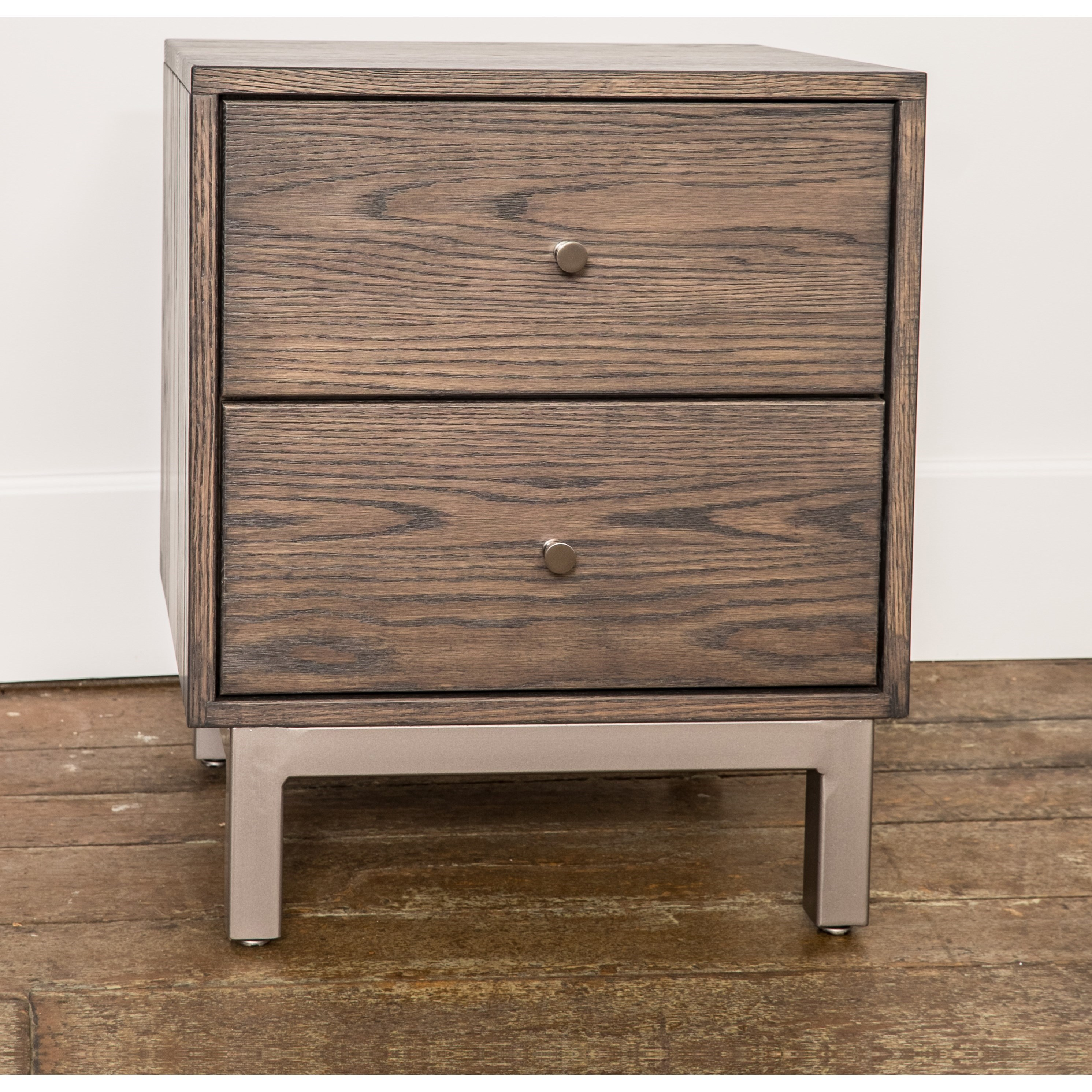 Sullivan Cove Customizable 2-Drawer Nightstand by Glenmont Furniture at Saugerties Furniture Mart
