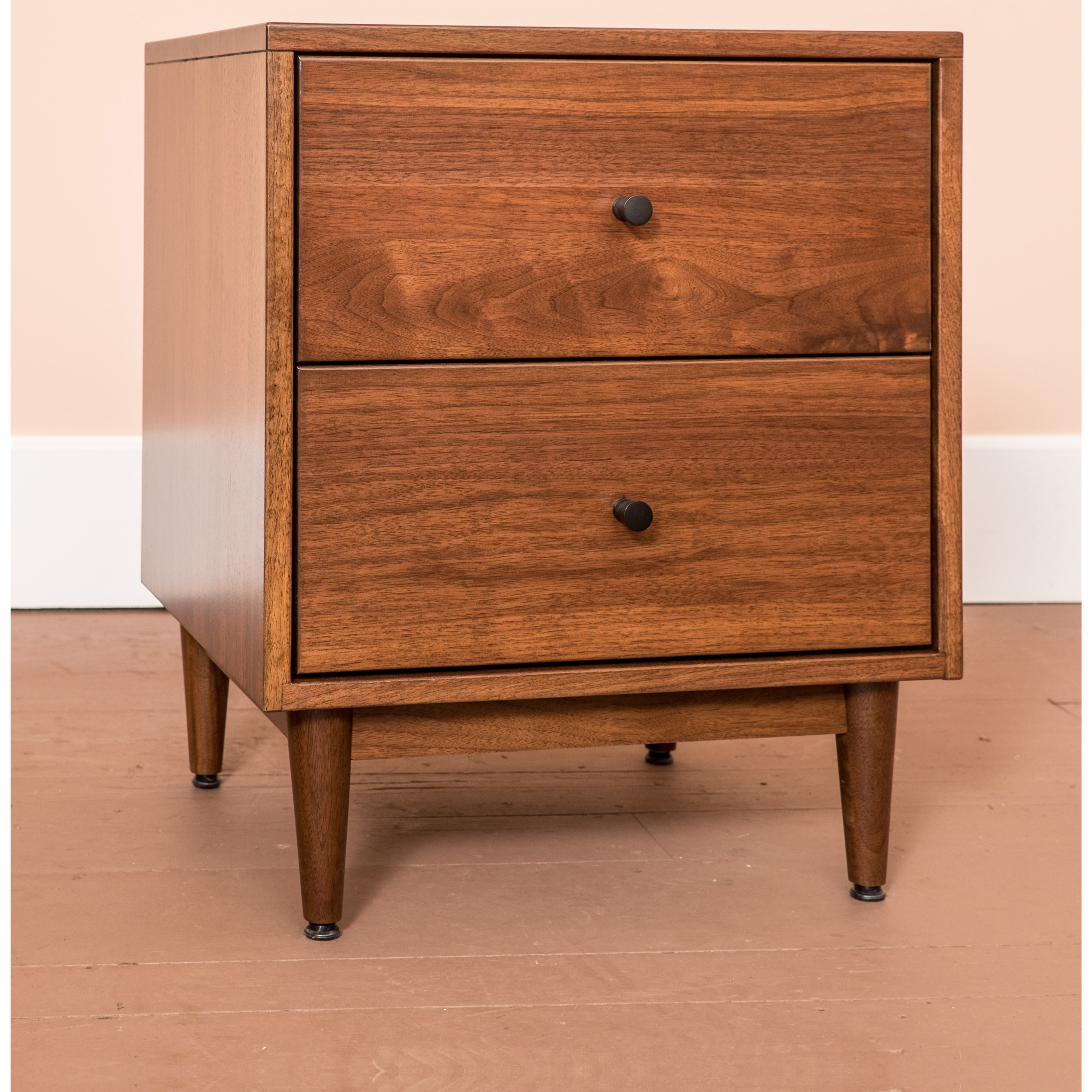 Sullivan Road Customizable 2-Drawer Nightstand by Glenmont Furniture at Saugerties Furniture Mart