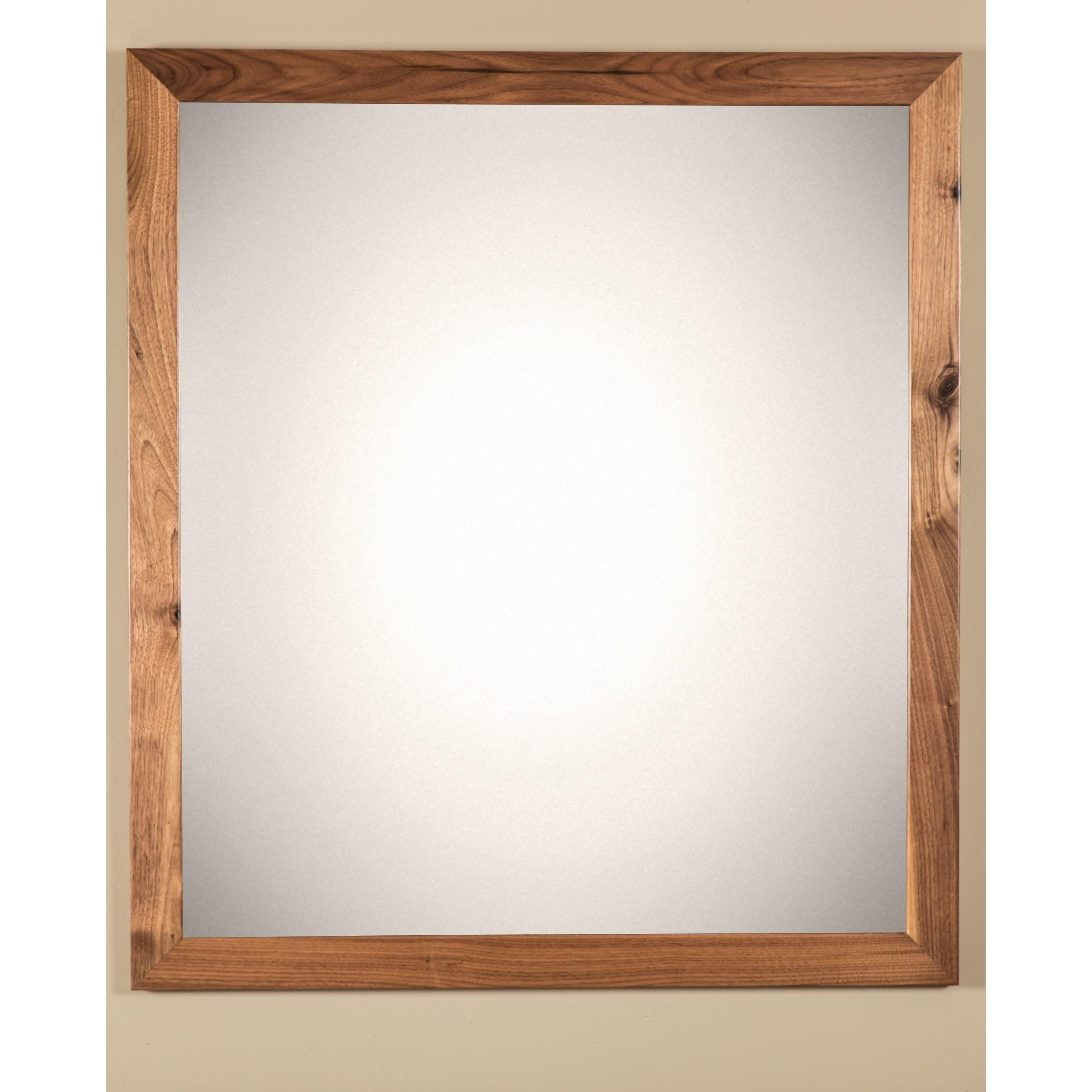 Sullivan Lake Customizable Mirror by Glenmont Furniture at Saugerties Furniture Mart