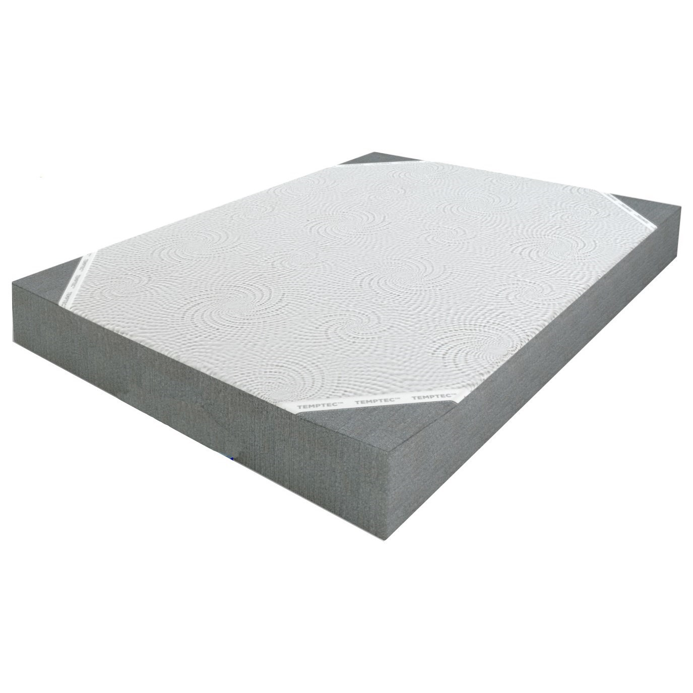 """Tranquil 8 Full 8"""" Memory Foam Mattress by Glideaway at H.L. Stephens"""