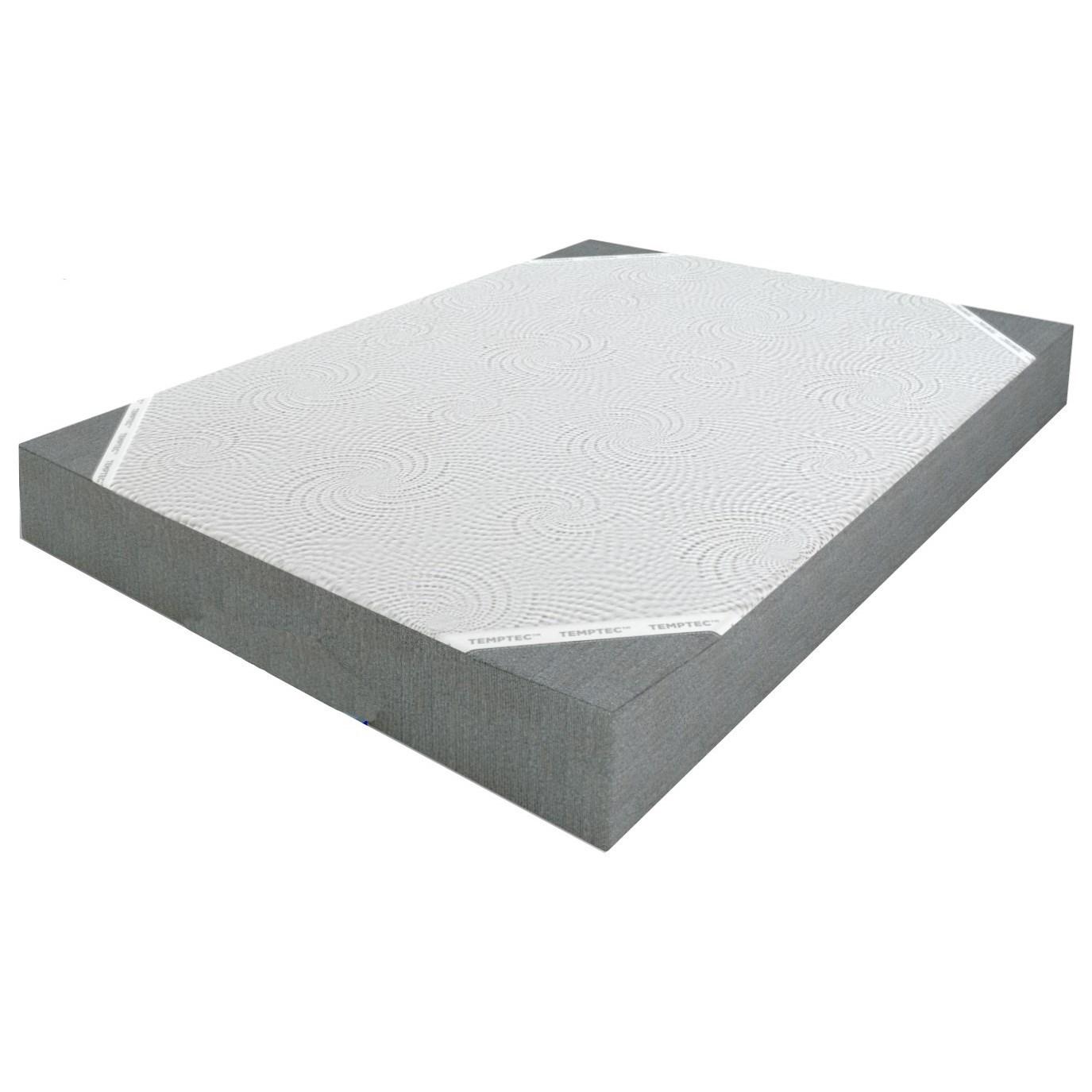 "Tranquil 8 Full 8"" Memory Foam Mattress by Glideaway at Beds N Stuff"