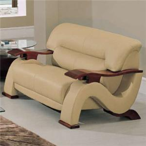 Global Furniture 2033 Contemporary Love Seat
