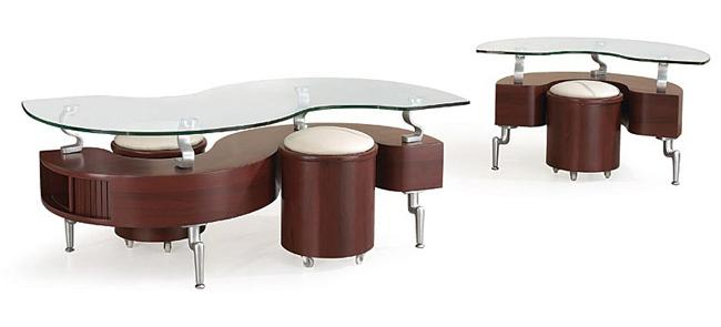 288 Occasional Table and Stool Package by Global Furniture at Nassau Furniture and Mattress