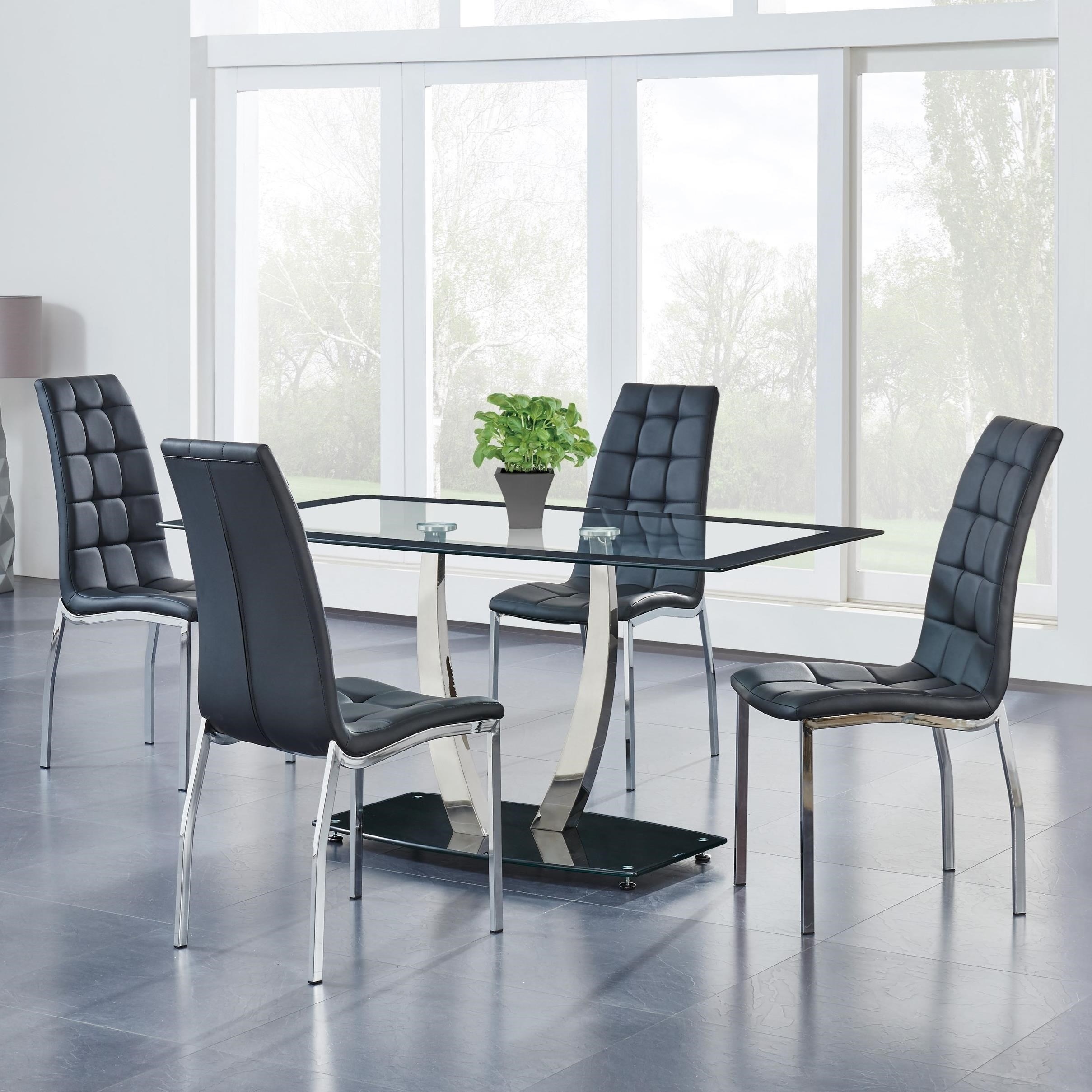 716 5-Piece Dining Set by Global Furniture at Dream Home Interiors