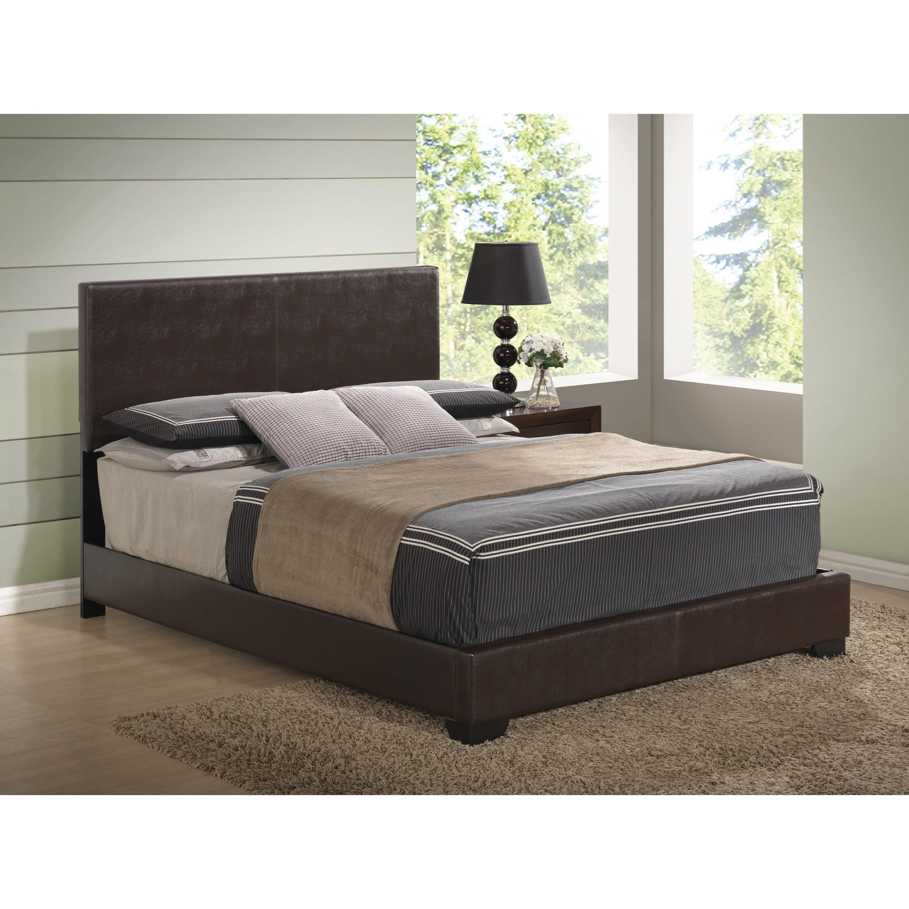 8103 Upholstered King Bed by Global Furniture at Nassau Furniture and Mattress