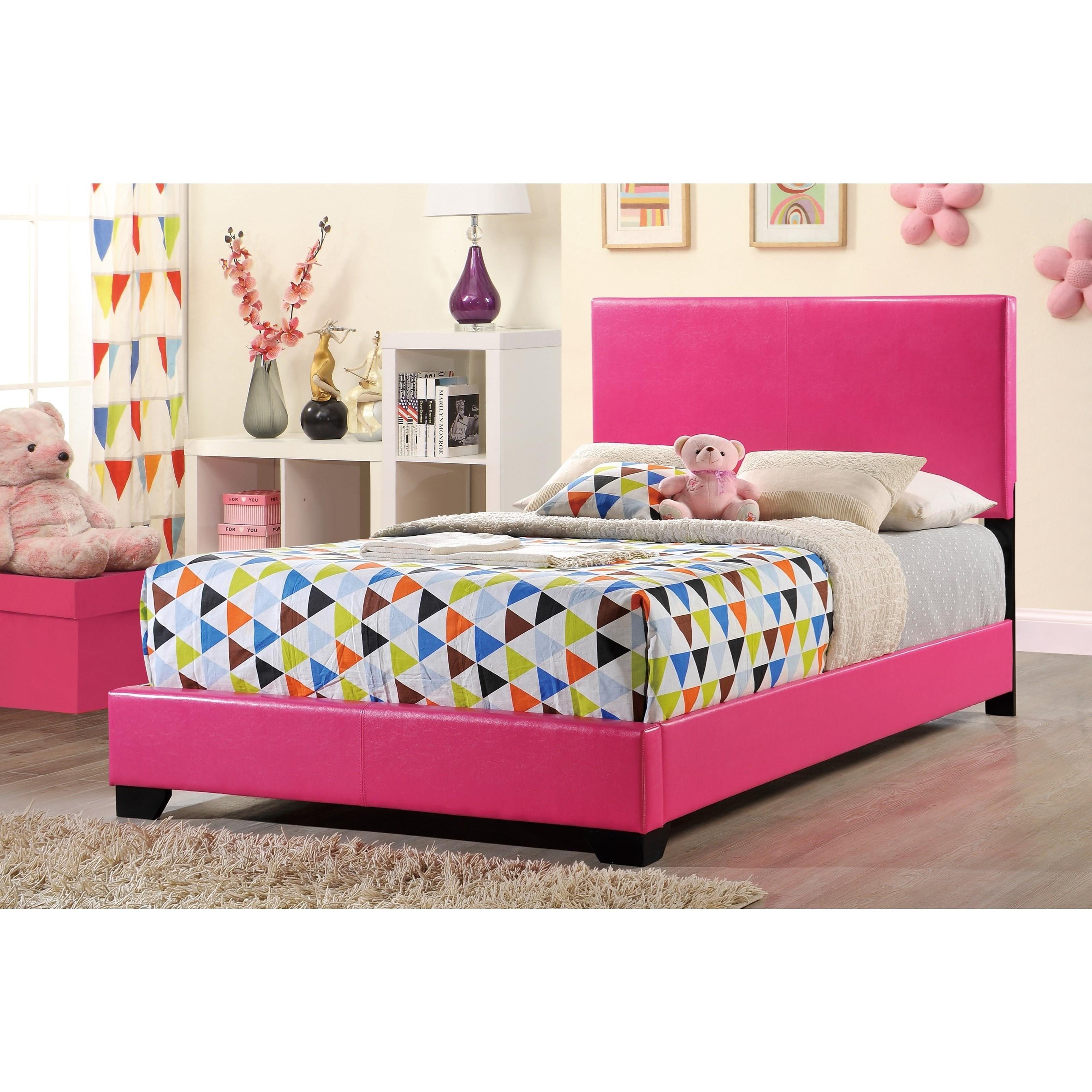 8103 Upholstered Full Bed by Global Furniture at Corner Furniture