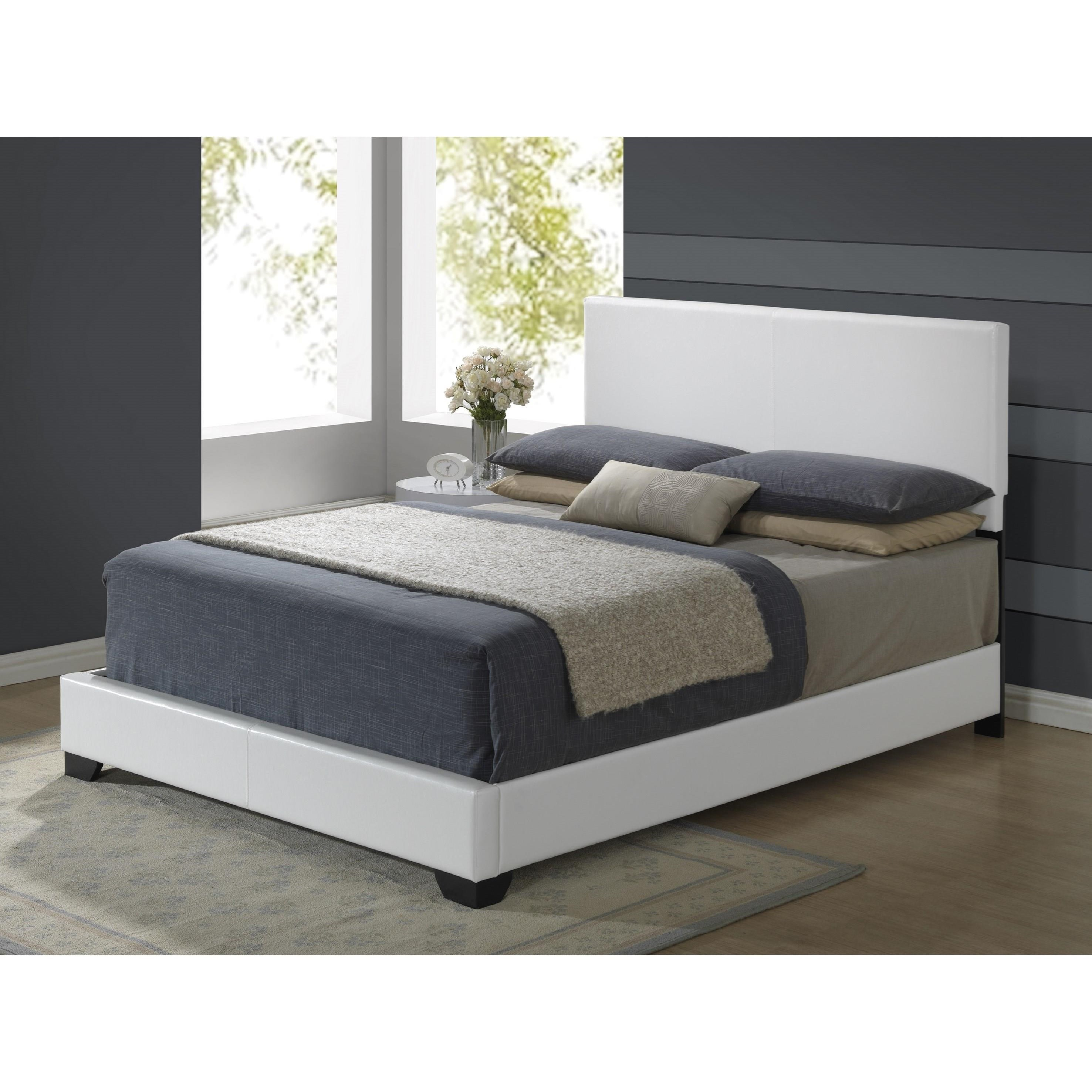 8103 Upholstered Queen Bed by Global Furniture at Nassau Furniture and Mattress