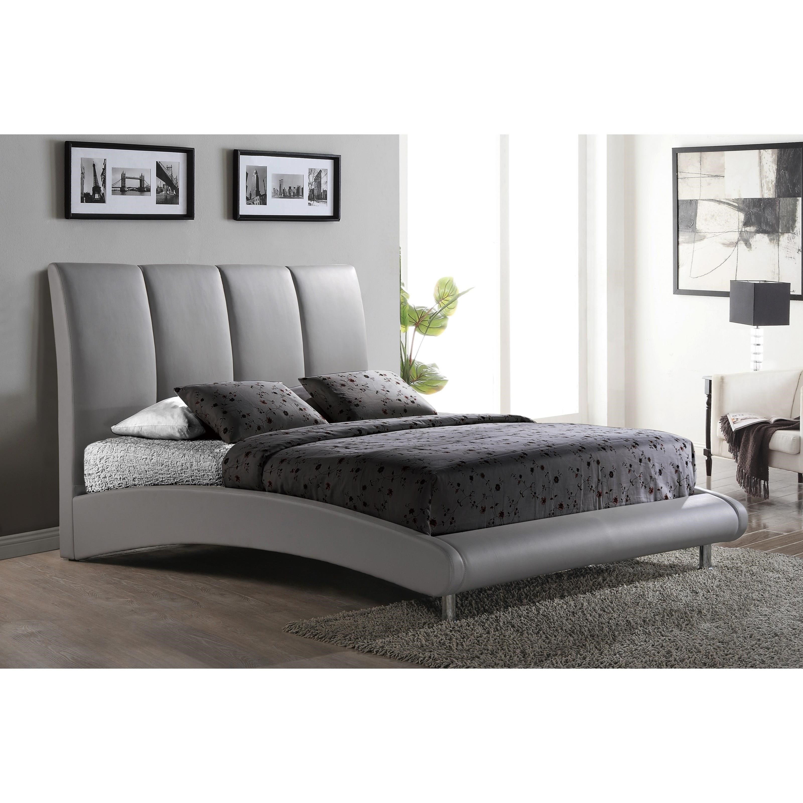 8272 Arched King Bed by Global Furniture at Nassau Furniture and Mattress