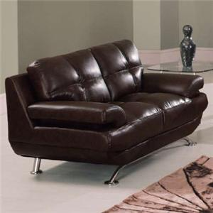 Global Furniture 9108 Contemporary Love Seat