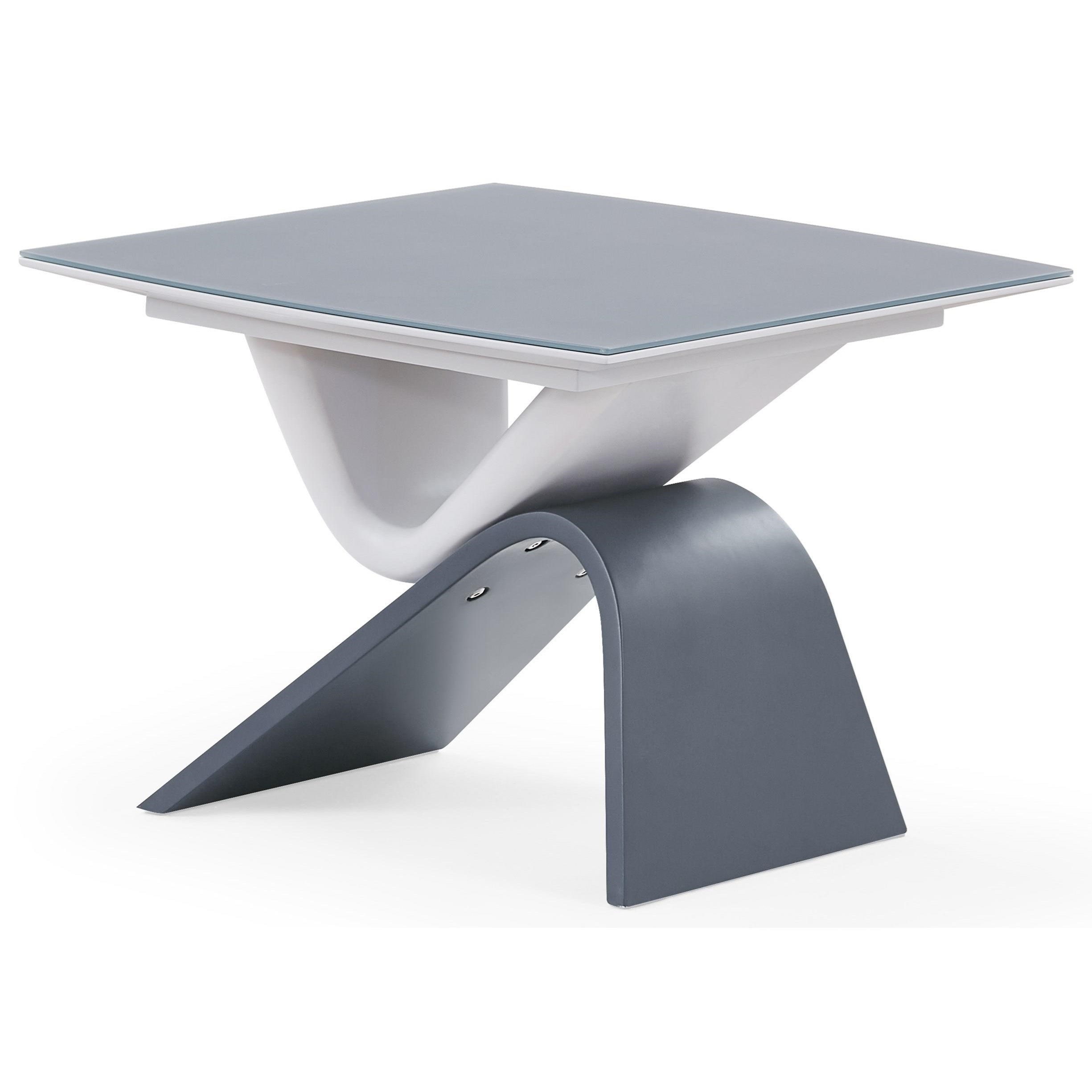 Double Check End Table by Global Furniture at Nassau Furniture and Mattress