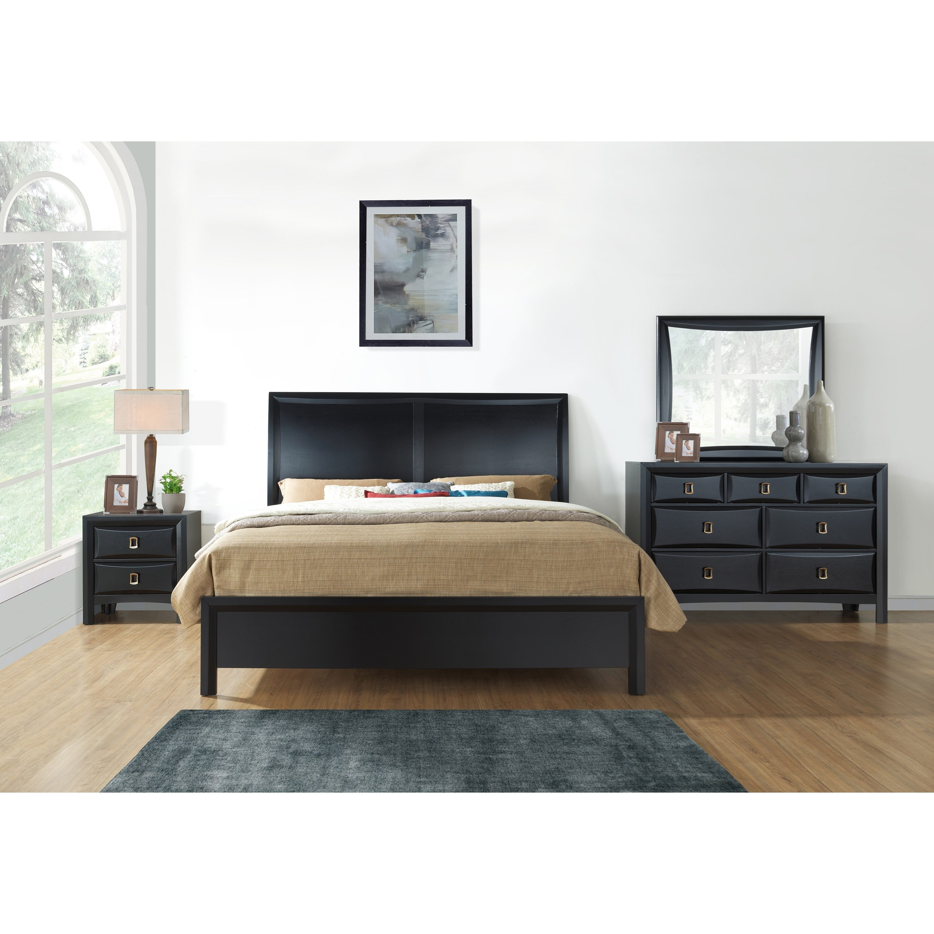 Lucas King Bedroom Group by Global Furniture at Nassau Furniture and Mattress