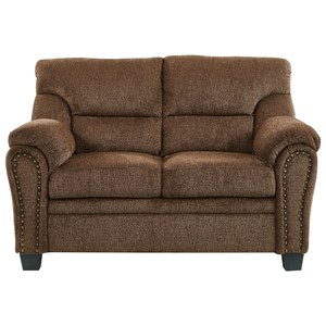 Loveseat with Nailhead Trim