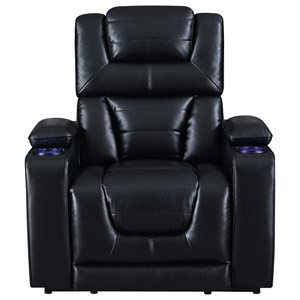 Power Recliner w/ Pwr Headrest