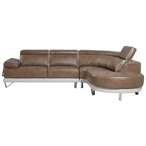 Contemporary Two Piece Sectional
