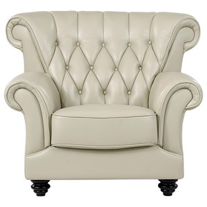 Transitional Tufted Chair