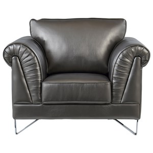 Shell Design Arms Chair