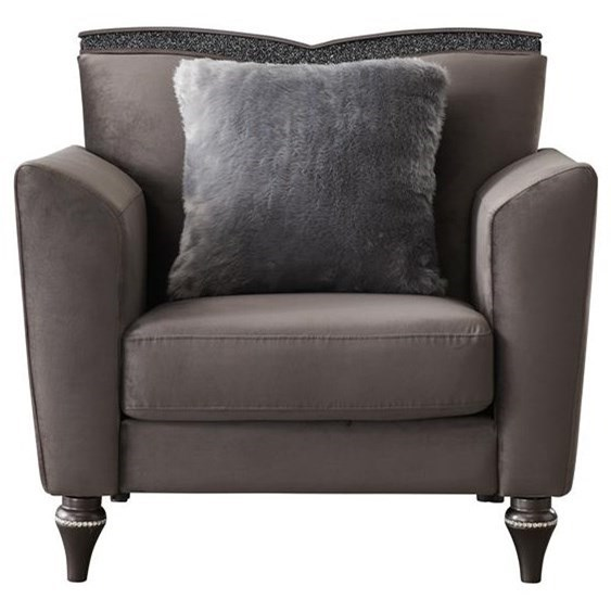 UFM801 Upholstered Chair by Global Furniture at Nassau Furniture and Mattress