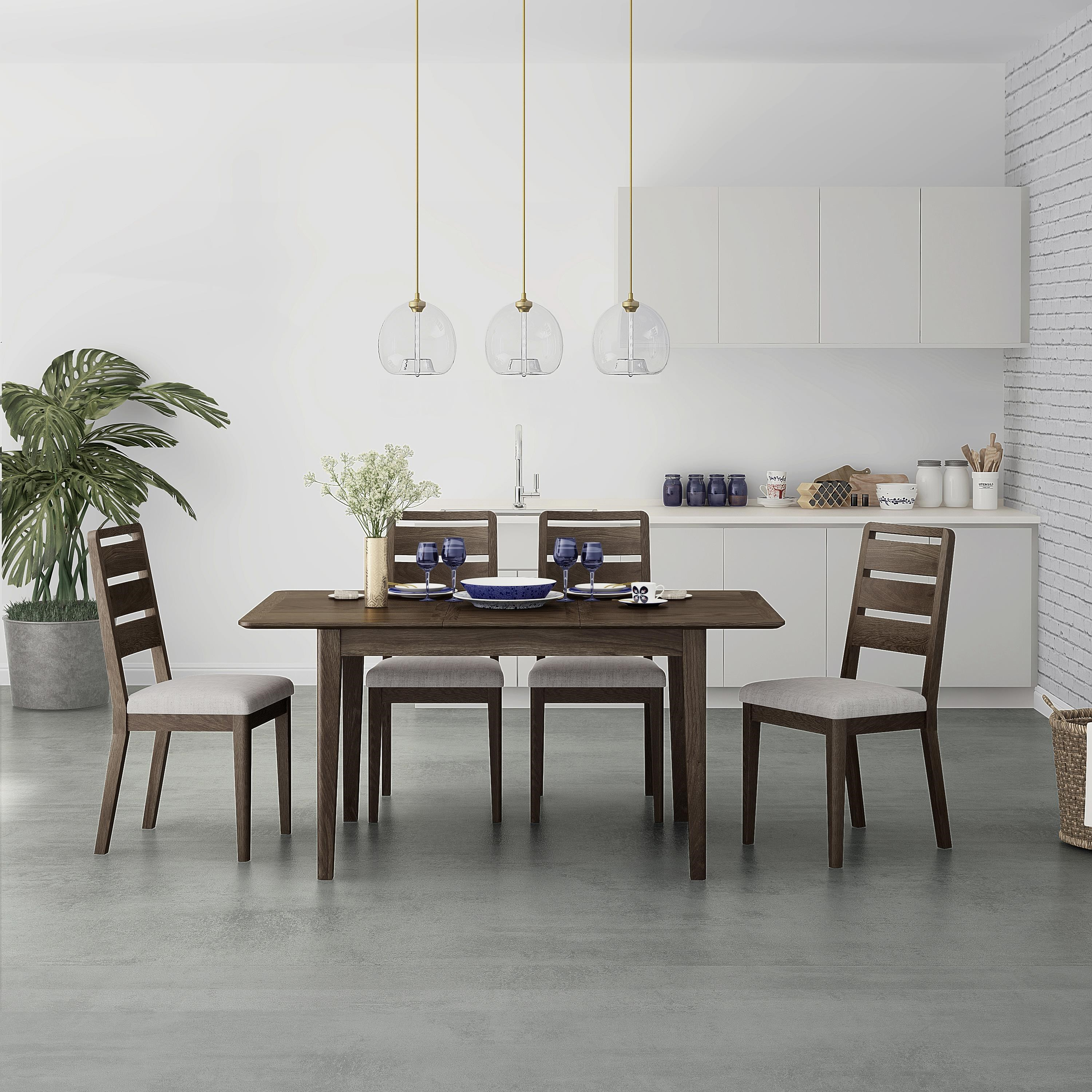 Amherst 5 Piece Dining Set by Global Home at HomeWorld Furniture
