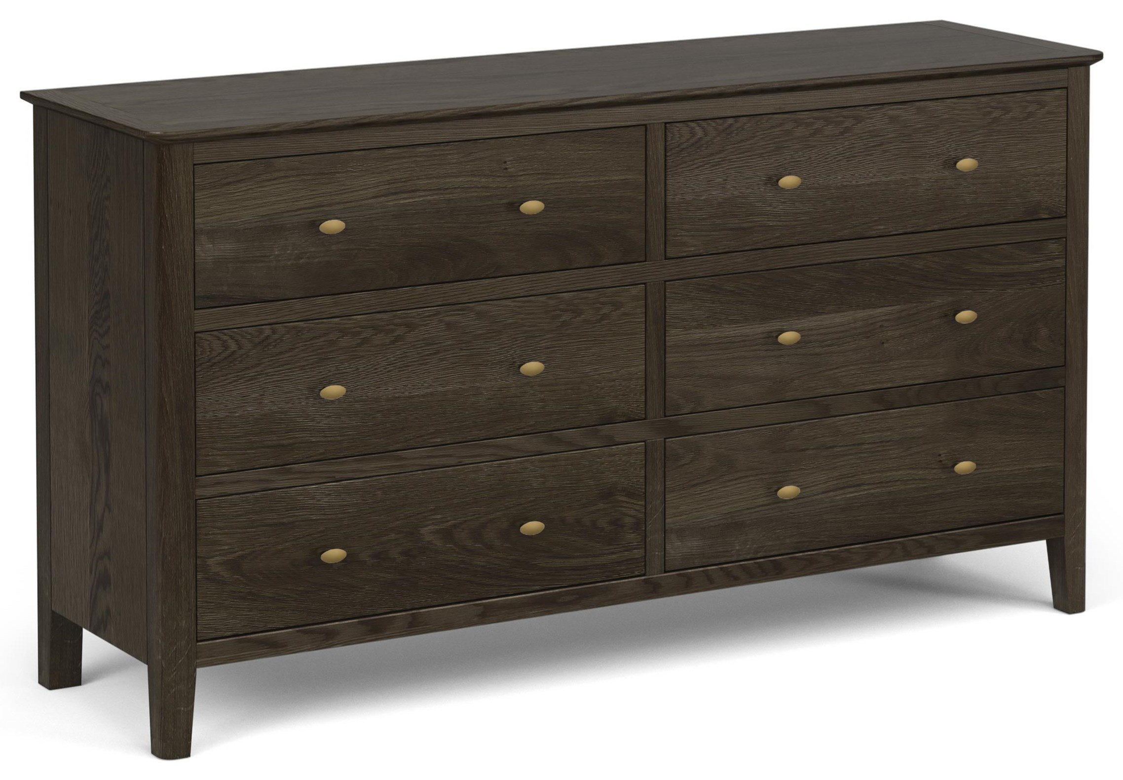 Amherst 6 Drawer Dresser by Global Home at Red Knot