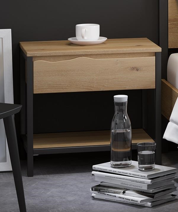 Oak Mill White Oil Nightstand by Global Home at HomeWorld Furniture