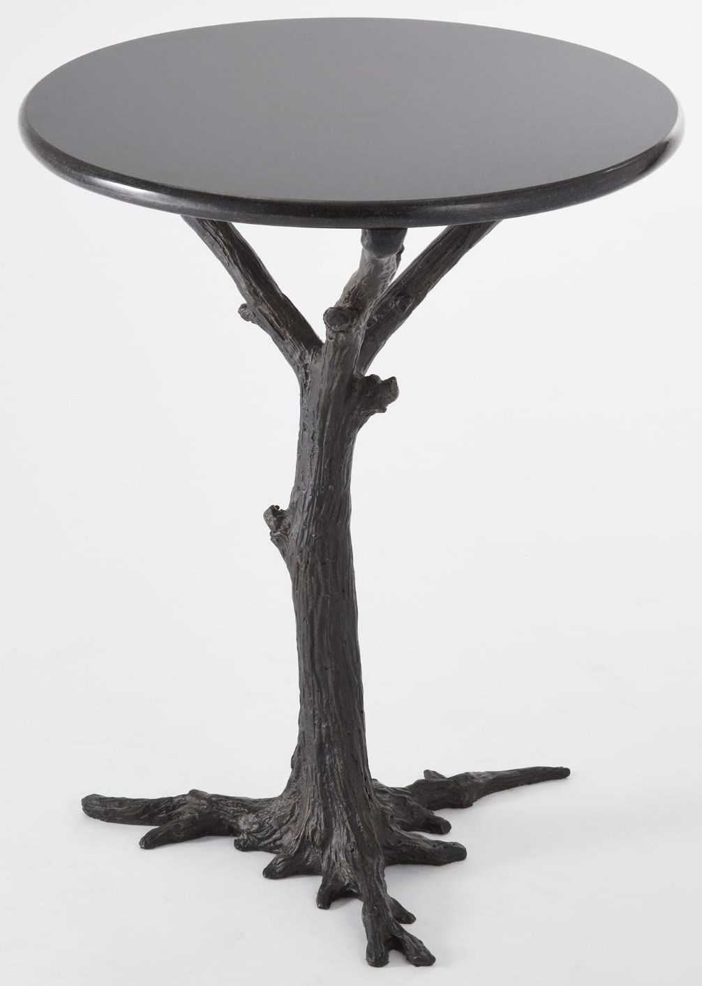 Furniture by Global Views Faux Bois Side Table by Global Views at Jacksonville Furniture Mart