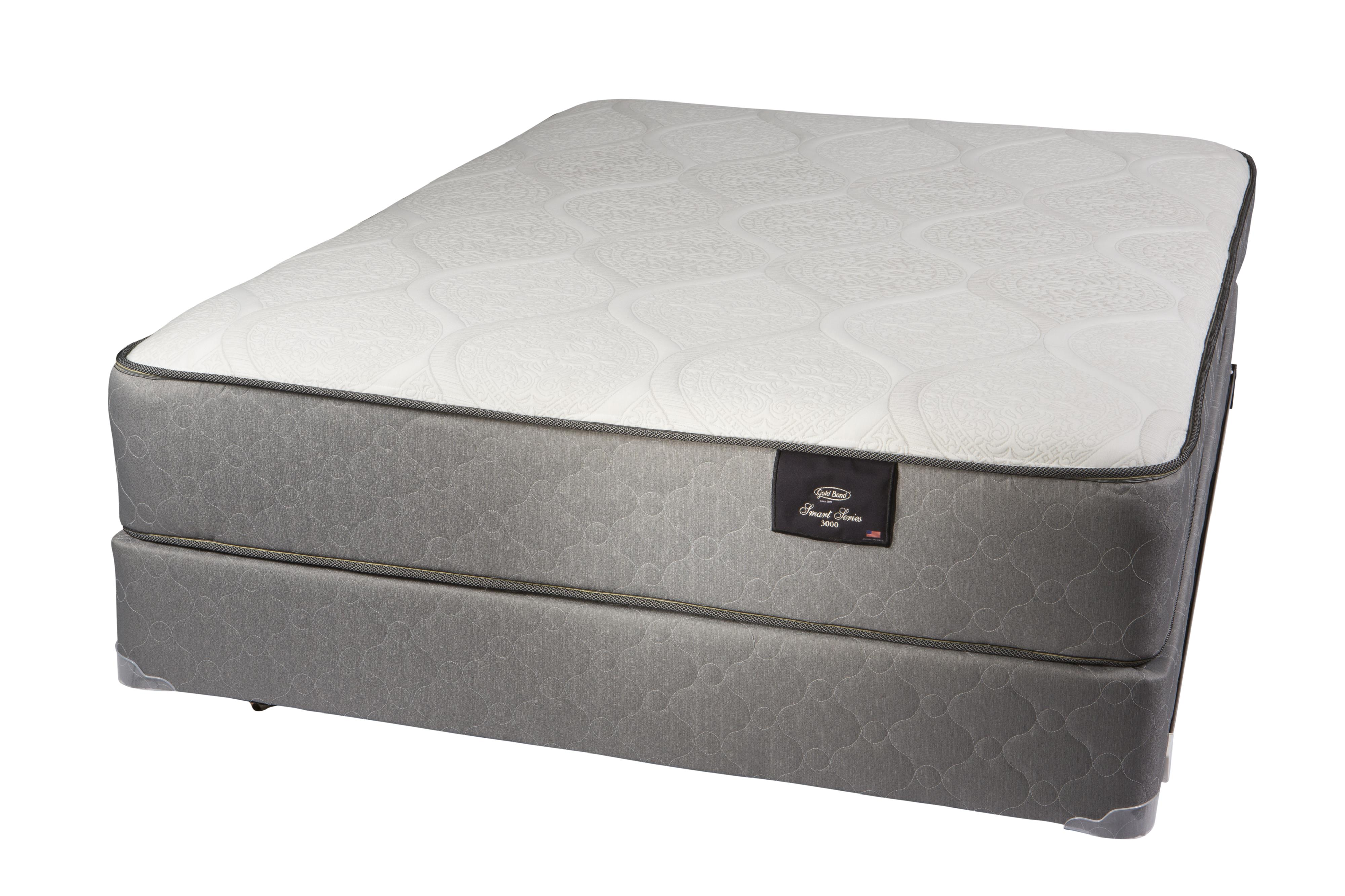Smart Series 4500 Queen Hybrid Two Sided Mattress Set by Gold Bond Mattress Company at Beds N Stuff