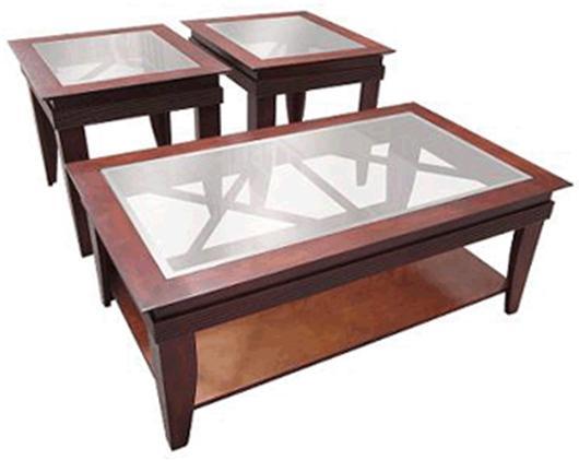 Aris 3-Pack Occasional Table Set by Golden Goose International Corp at Lucas Furniture & Mattress