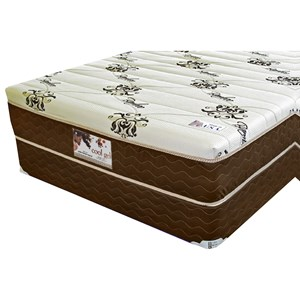 "King 12"" Gel Memory Foam Mattress and 9"" Wood Foundation"