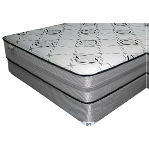 "King 12"" Latex/Gel Memory Foam Mattress and 9"" Wood Foundation"