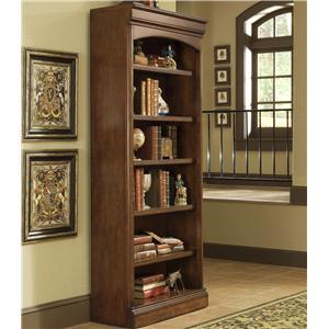 Golden Oak by Whalen Villa Tuscano Open Bookcase