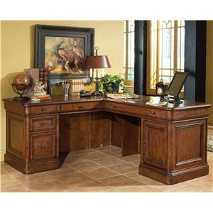 Golden Oak by Whalen Villa Tuscano Return Desk