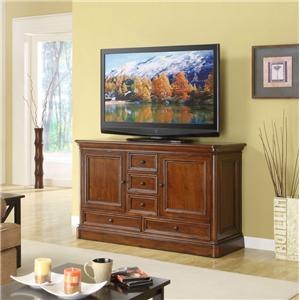 """Golden Oak by Whalen Villa Tuscano 60"""" Television Console"""