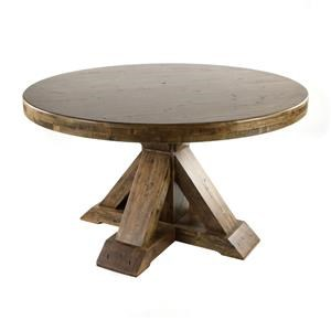 """Round 54"""" Dining Table"""