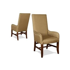 Winston Arm Chair Luxe Gold